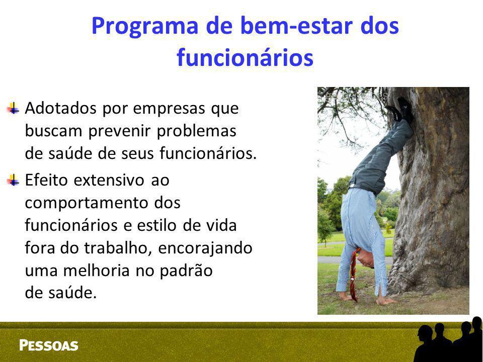 Programa de bem-estar dos funcionários