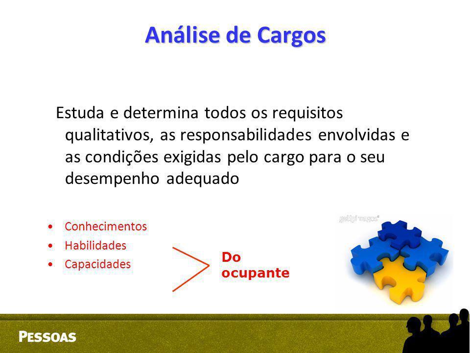 Análise de Cargos