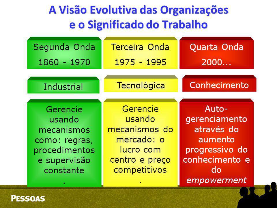 A Visão Evolutiva das Organizações e o Significado do Trabalho
