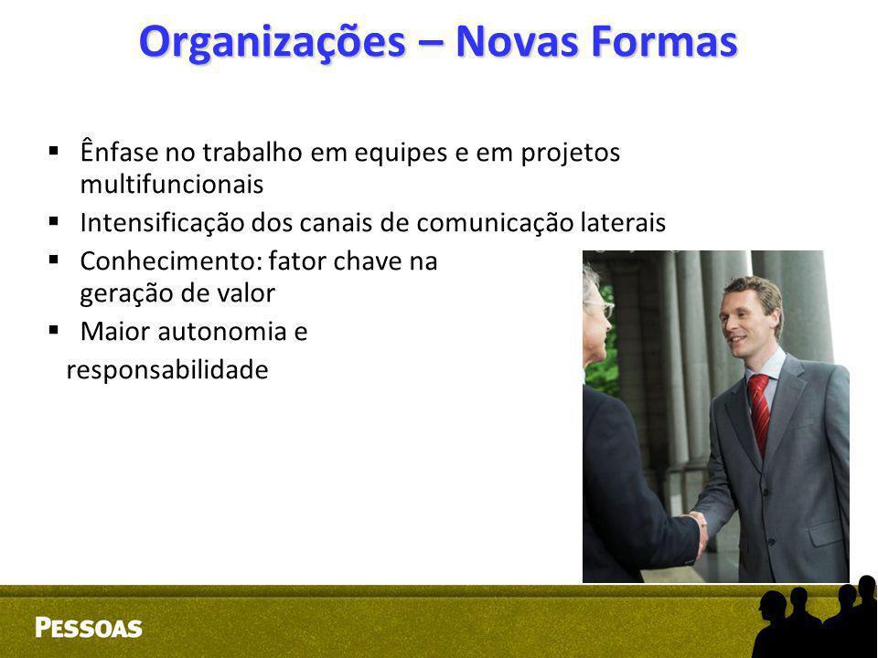 Organizações – Novas Formas
