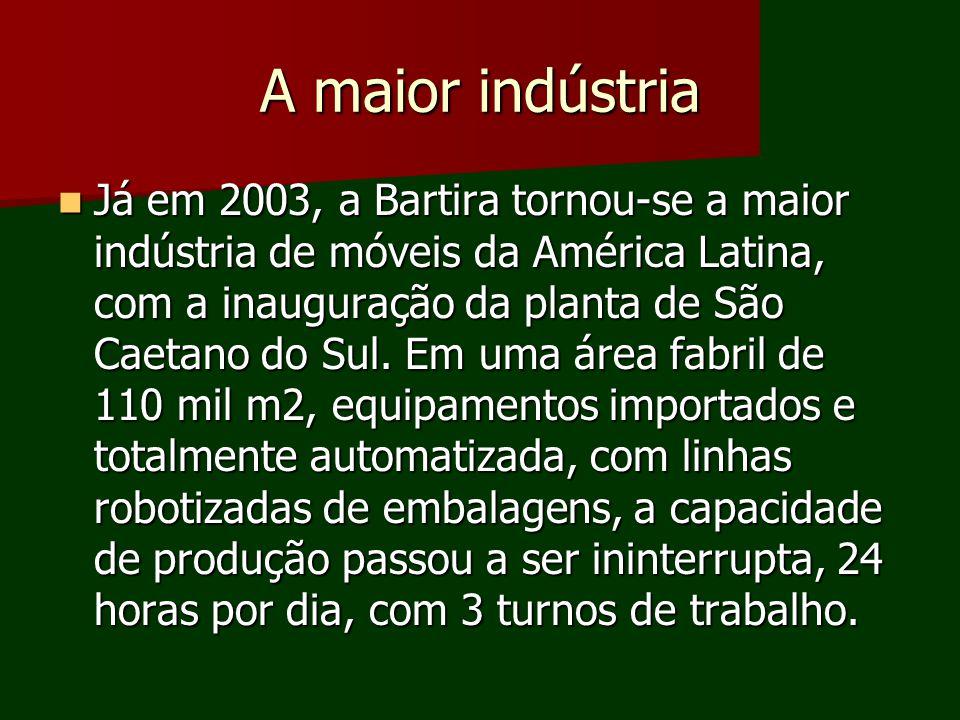 A maior indústria