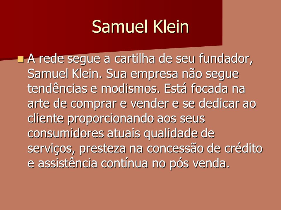 Samuel Klein