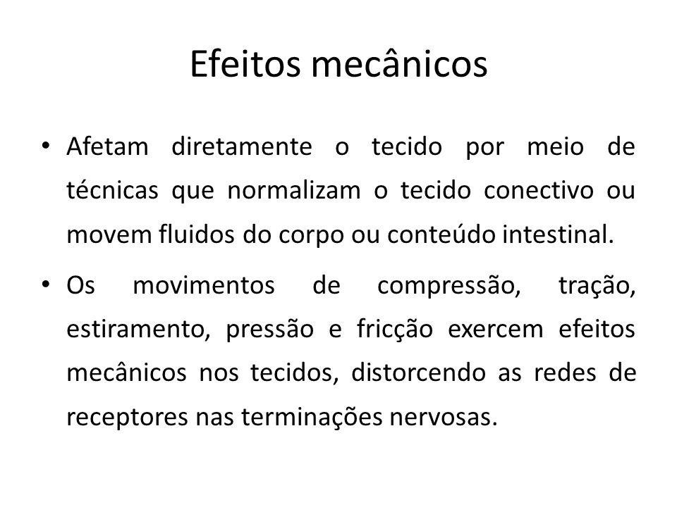 Efeitos mecânicos