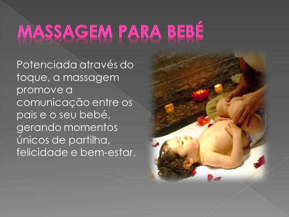 Massagem para Bebé