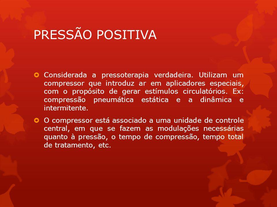PRESSÃO POSITIVA