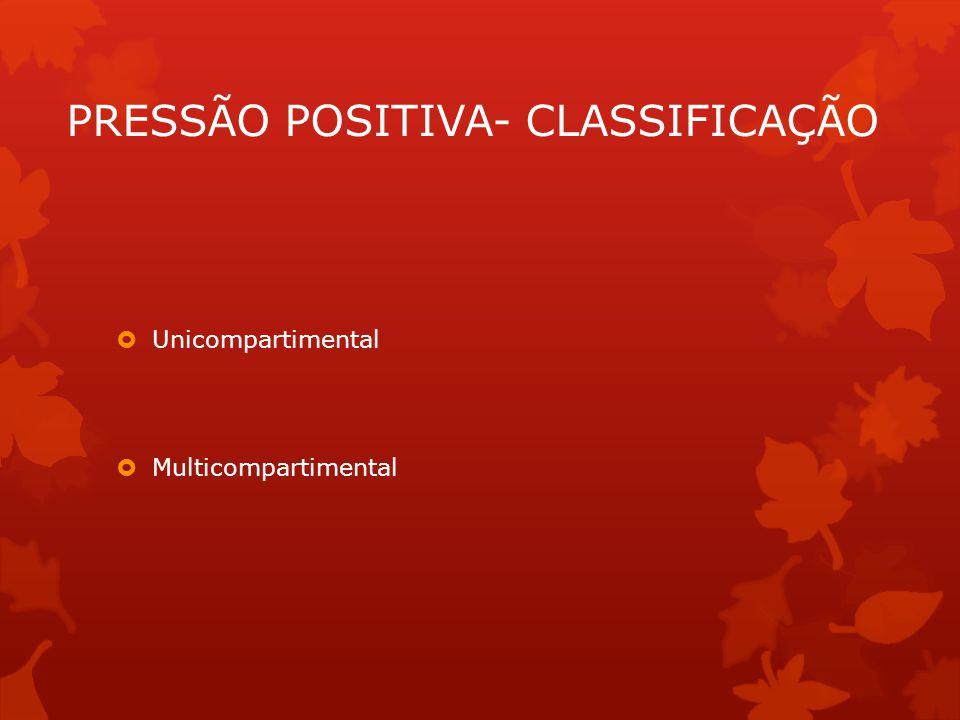 PRESSÃO POSITIVA- CLASSIFICAÇÃO
