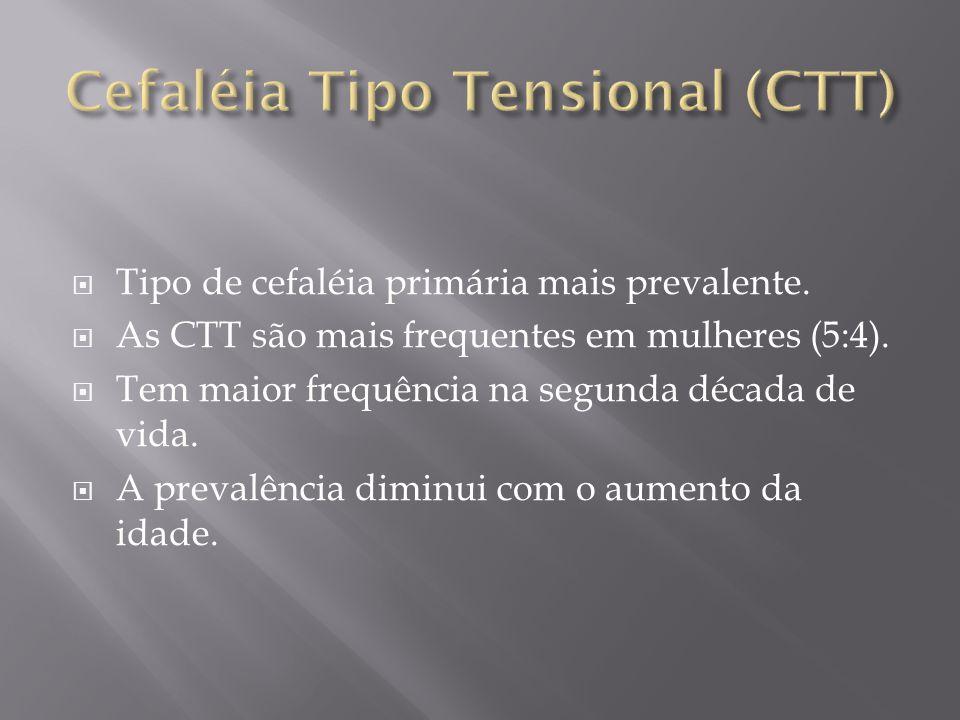 Cefaléia Tipo Tensional (CTT)