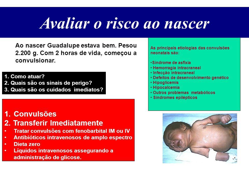Avaliar o Risco ao Nascer