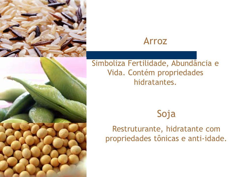 Restruturante, hidratante com propriedades tônicas e anti-idade.