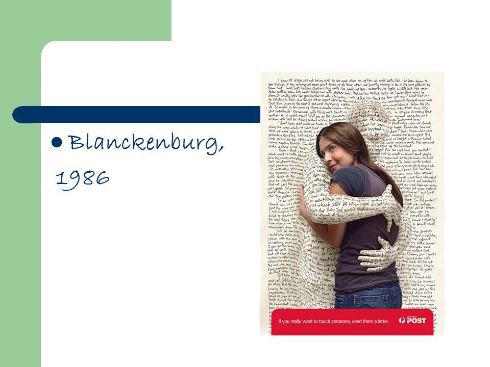 Blanckenburg, 1986