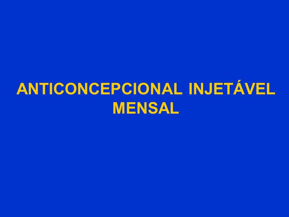 ANTICONCEPCIONAL INJETÁVEL MENSAL