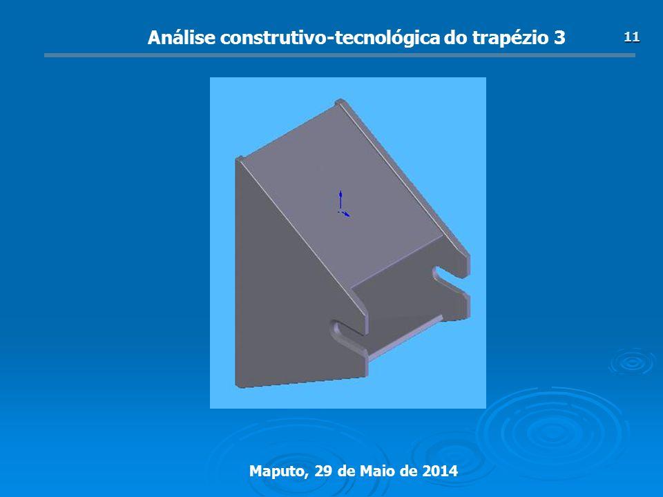 Análise construtivo-tecnológica do trapézio 3