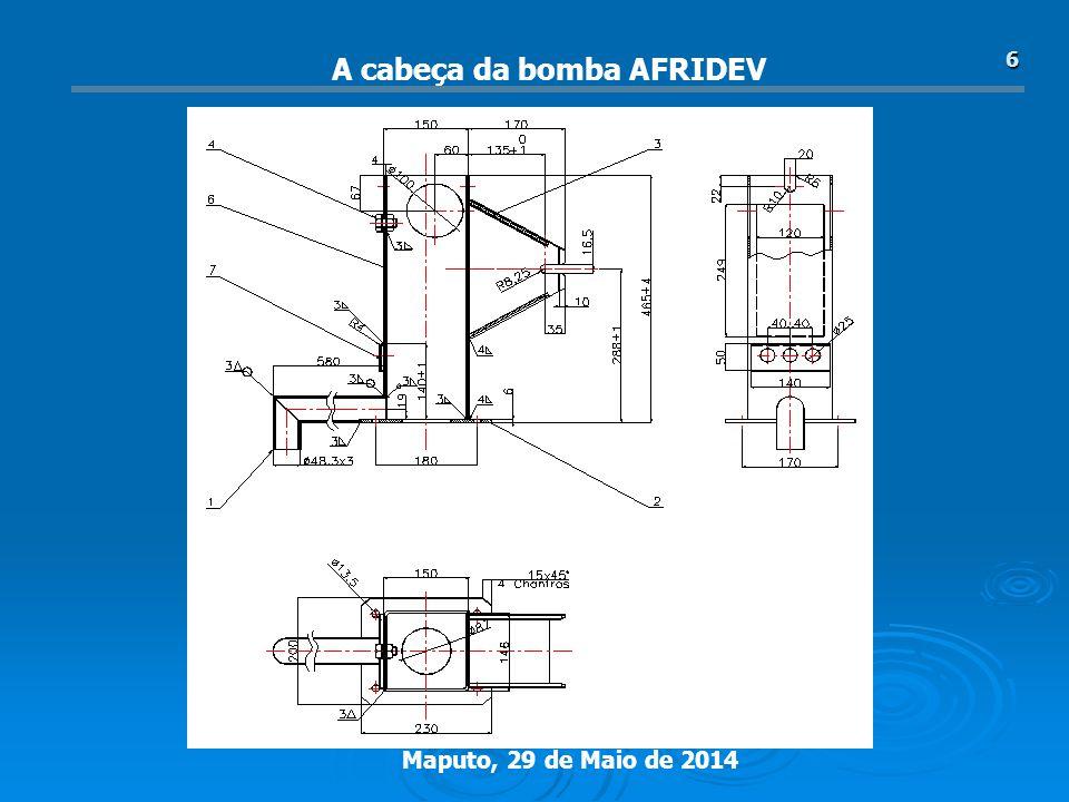 A cabeça da bomba AFRIDEV