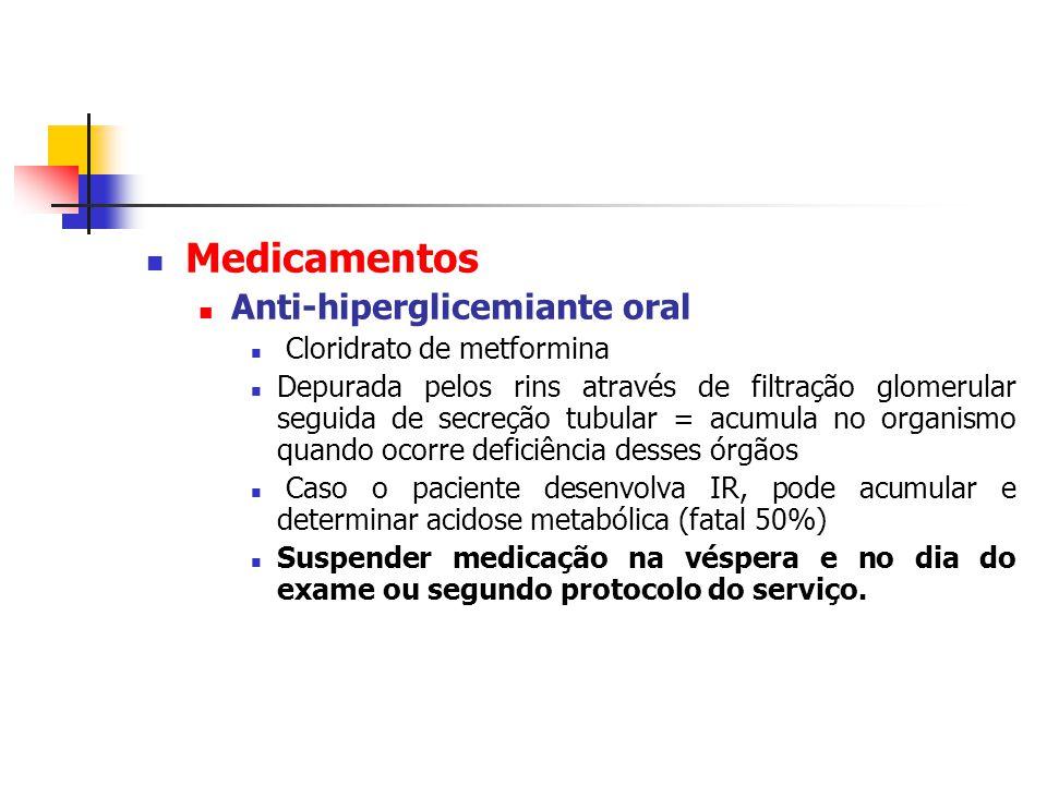 Medicamentos Anti-hiperglicemiante oral Cloridrato de metformina