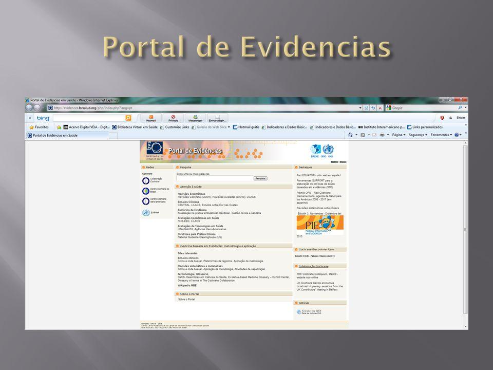 Portal de Evidencias