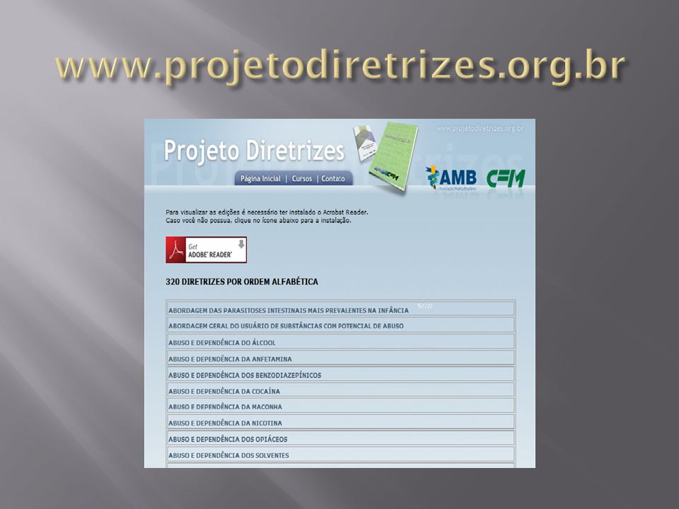 www.projetodiretrizes.org.br