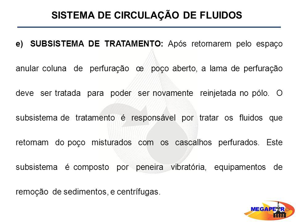 SISTEMA DE CIRCULAÇÃO DE FLUIDOS