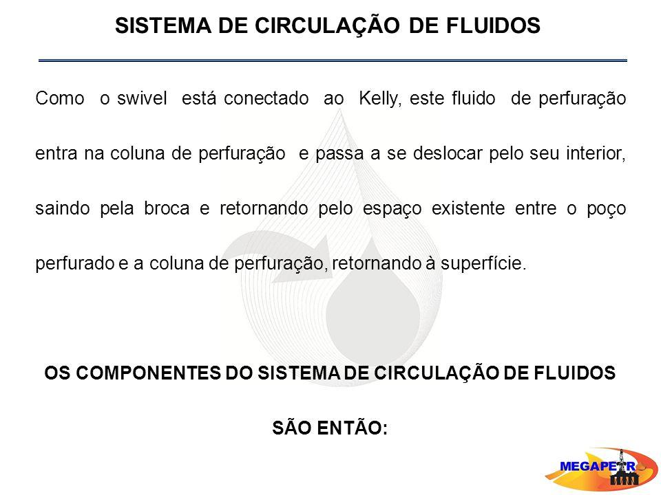 OS COMPONENTES DO SISTEMA DE CIRCULAÇÃO DE FLUIDOS SÃO ENTÃO: