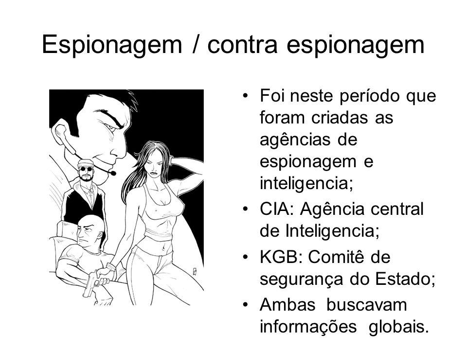 Espionagem / contra espionagem