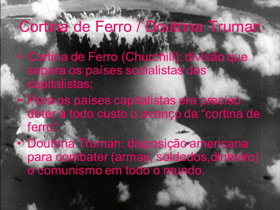 Cortina de Ferro / Doutrina Truman