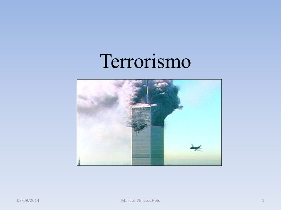 Terrorismo Objetivos do Curso: