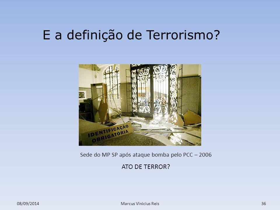 Sede do MP SP após ataque bomba pelo PCC – 2006