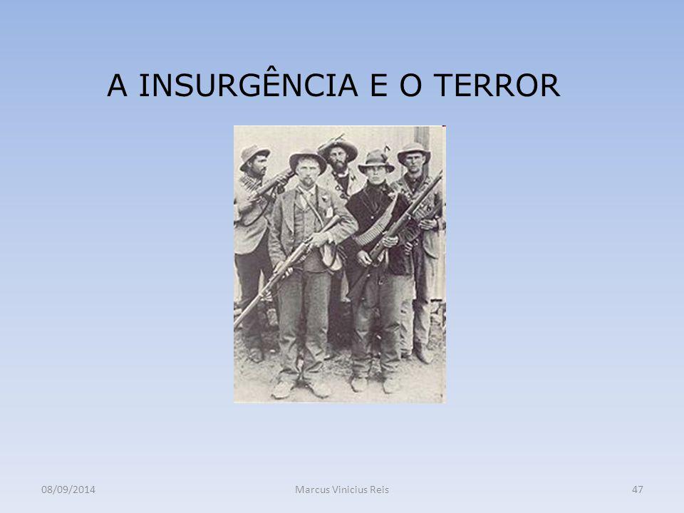 A INSURGÊNCIA E O TERROR