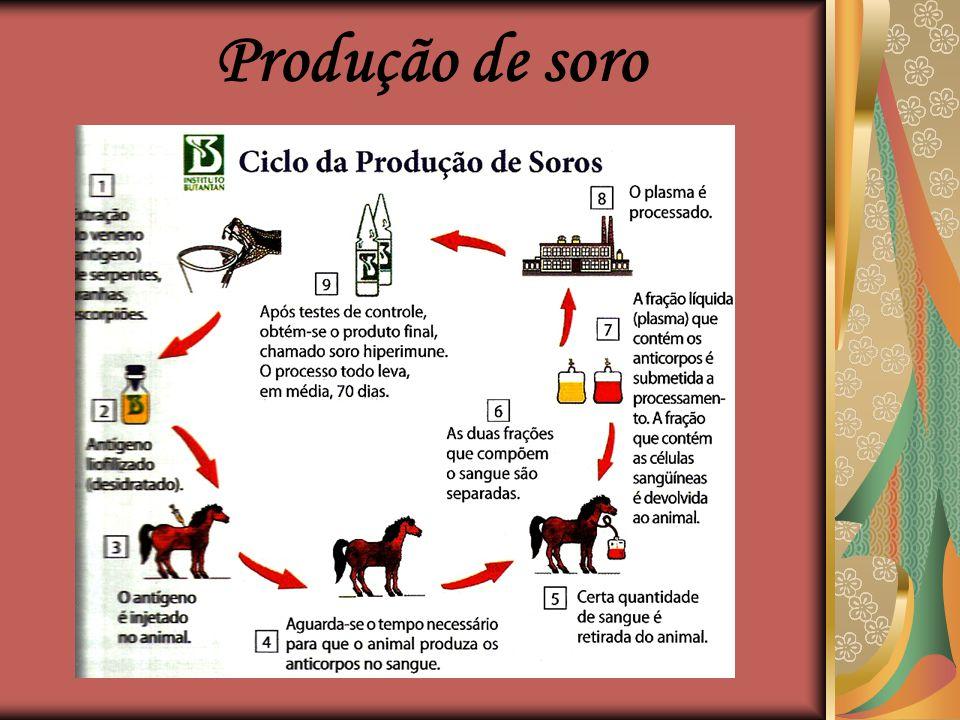 Produção de soro