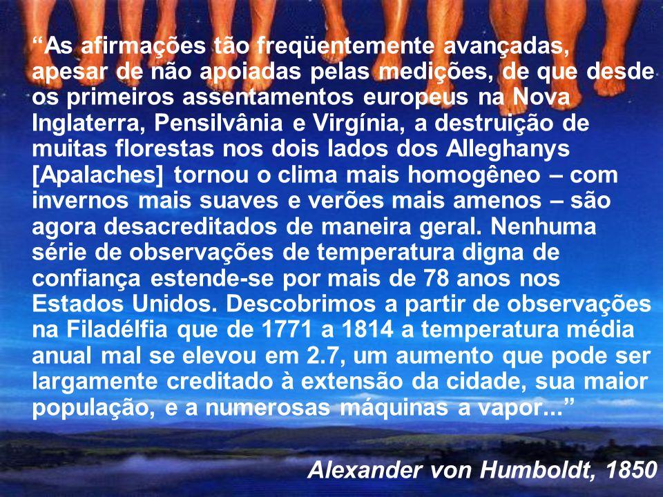Alexander von Humboldt, 1850