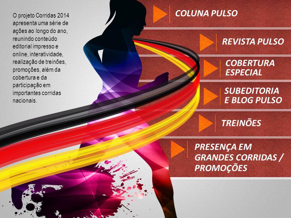 PRESENÇA EM GRANDES CORRIDAS / PROMOÇÕES