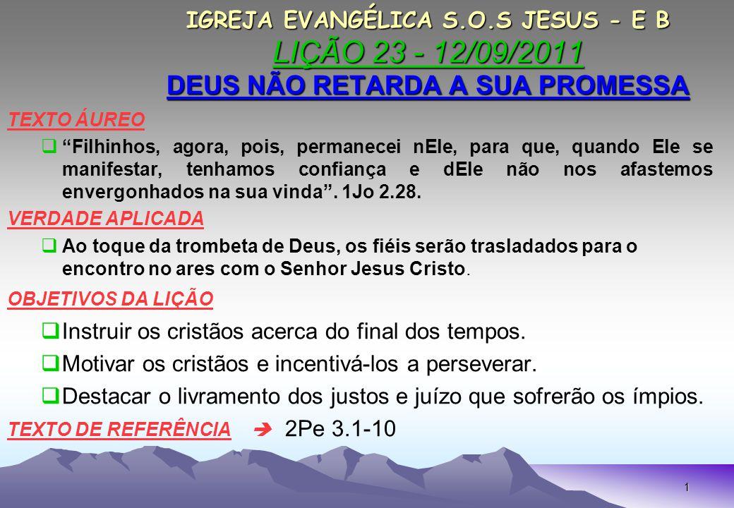 Instruir os cristãos acerca do final dos tempos.