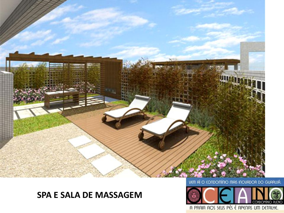 SPA E SALA DE MASSAGEM