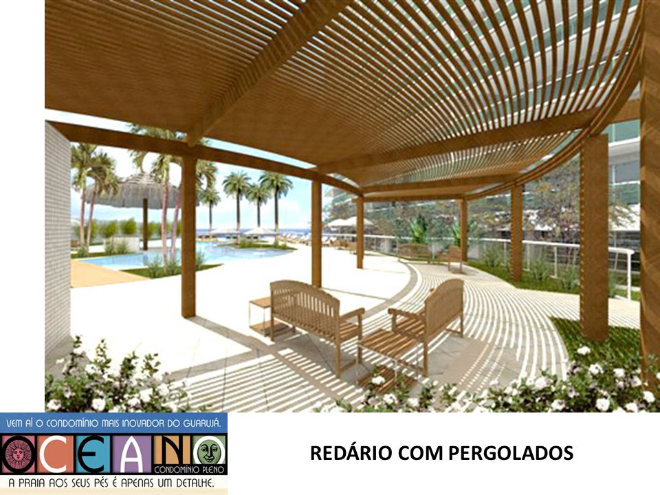 REDÁRIO COM PERGOLADOS