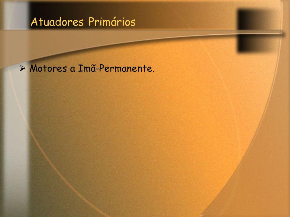 Atuadores Primários Motores a Imã-Permanente.