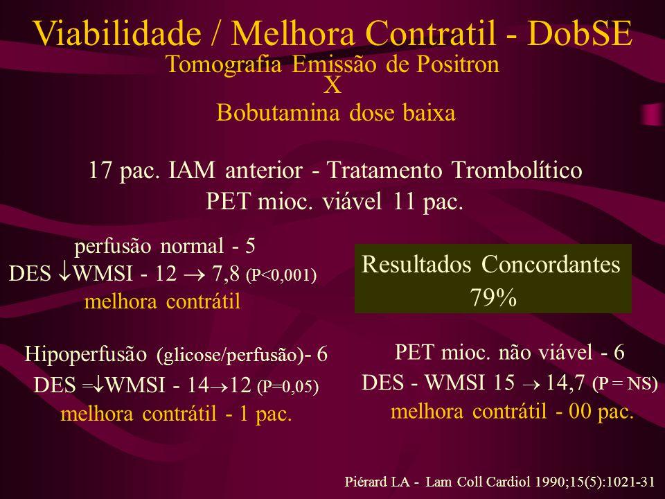 Viabilidade / Melhora Contratil - DobSE