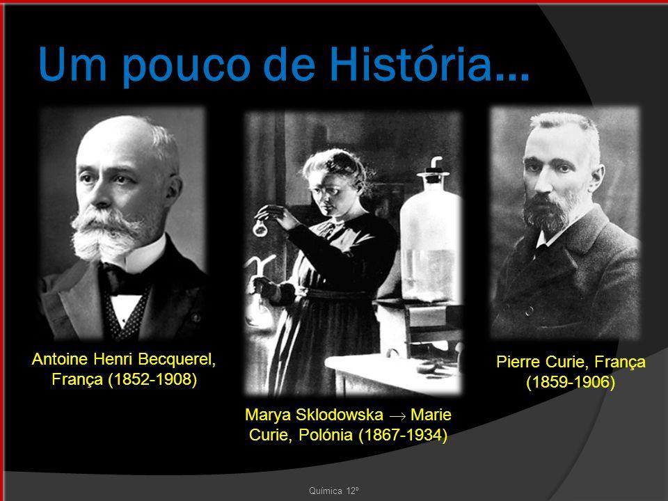Um pouco de História... Antoine Henri Becquerel, França (1852-1908)
