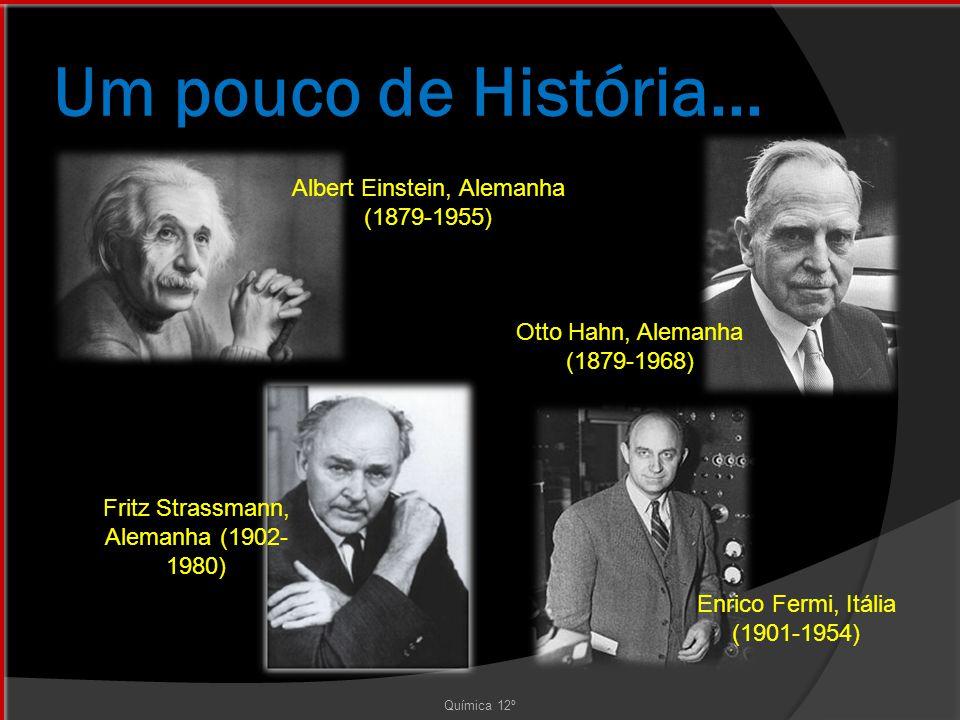 Um pouco de História... Albert Einstein, Alemanha (1879-1955)