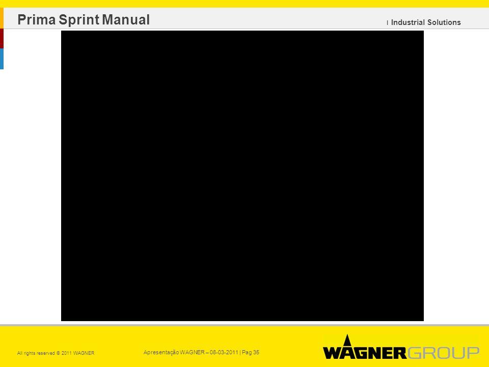 Prima Sprint Manual