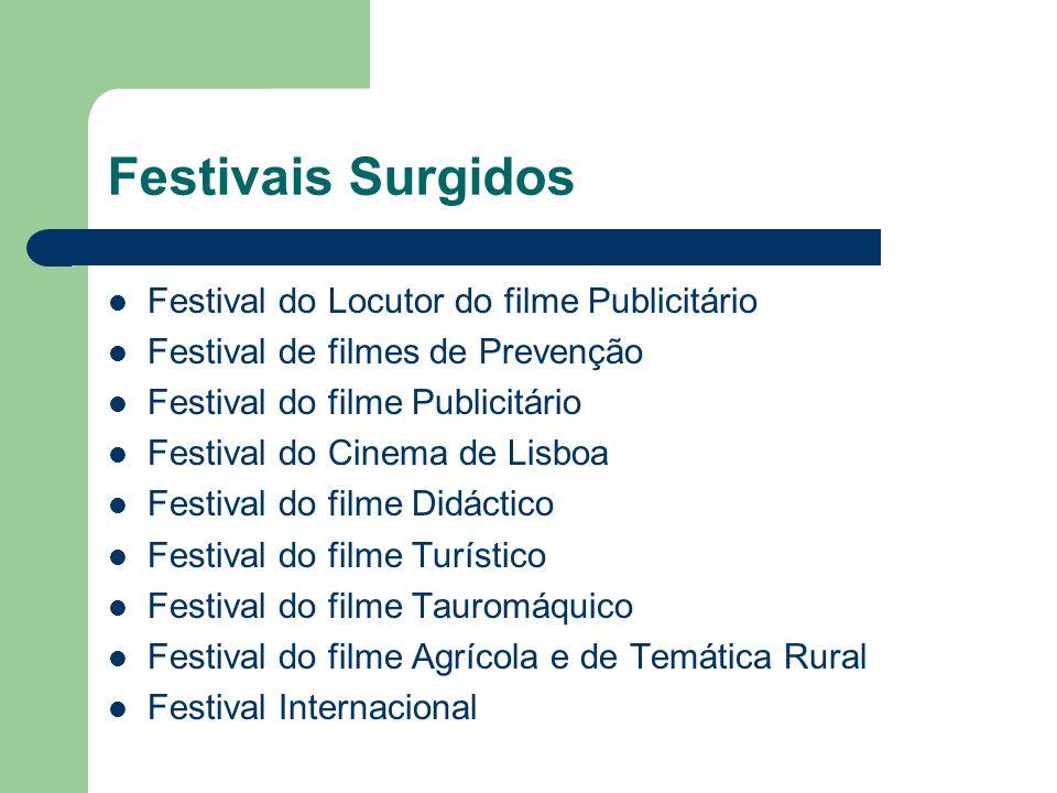 Festivais Surgidos Festival do Locutor do filme Publicitário