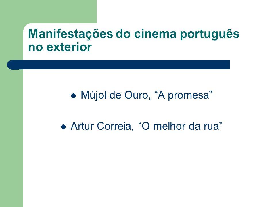 Manifestações do cinema português no exterior