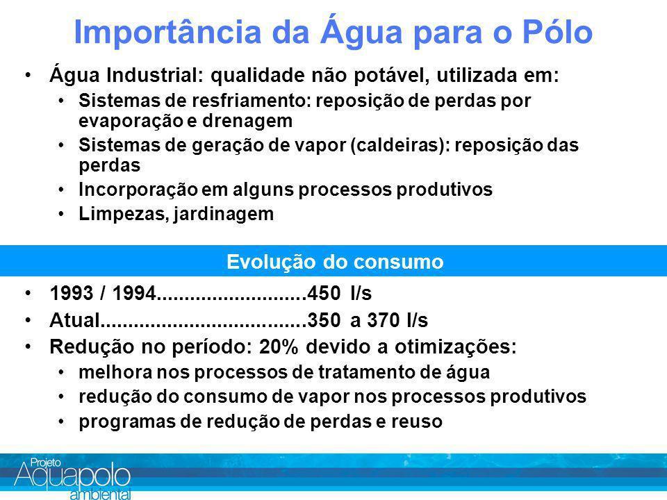 Importância da Água para o Pólo