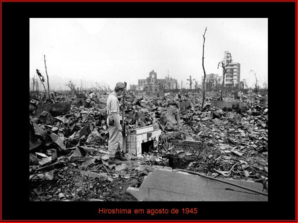 Hiroshima em agosto de 1945