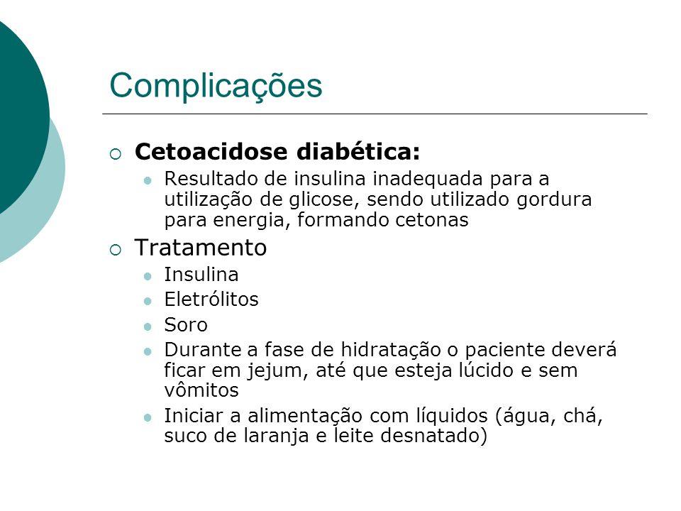 Complicações Cetoacidose diabética: Tratamento