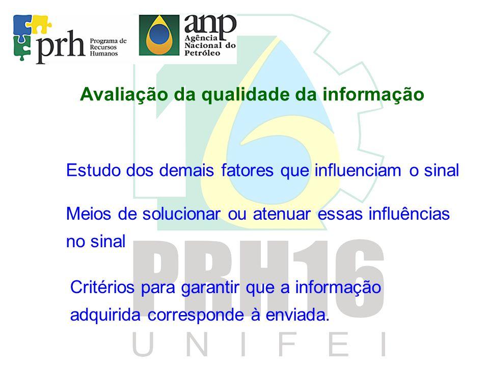 Avaliação da qualidade da informação