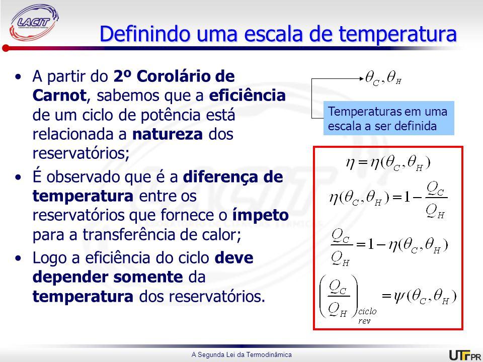 Definindo uma escala de temperatura