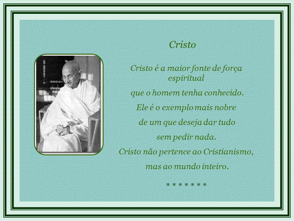 Cristo Cristo é a maior fonte de força espiritual
