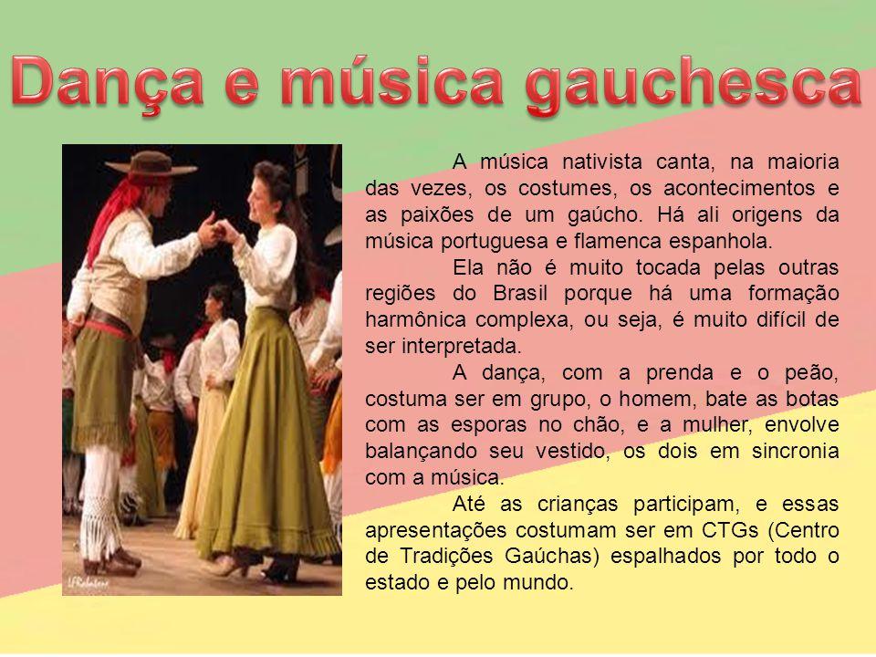 Dança e música gauchesca