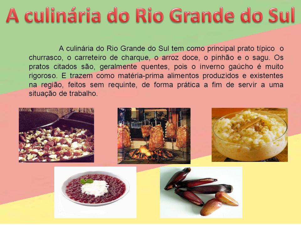 A culinária do Rio Grande do Sul