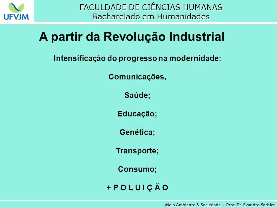 A partir da Revolução Industrial