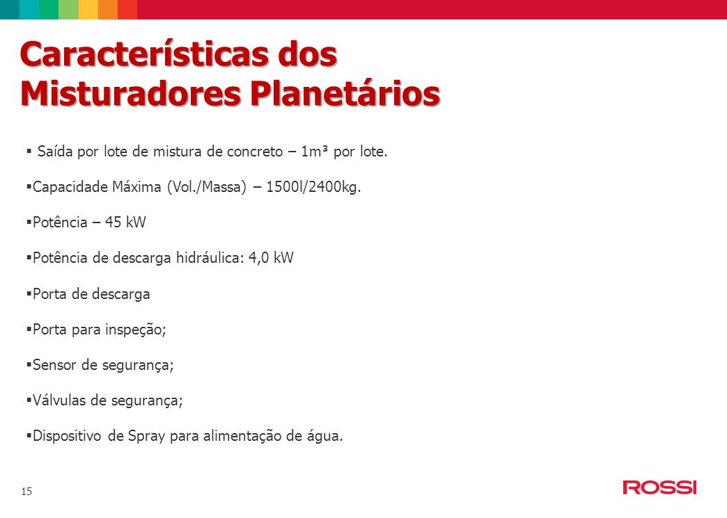 Misturadores Planetários